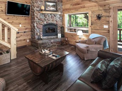 Photo for Clearwater Cabin, 3 bedrooms, Hot Tub, Near Town, Sleeps 10