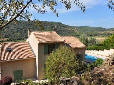Photo for Complete villa with private swimming pool, lots of privacy and a great view
