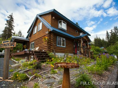 Photo for Come enjoy the peace and comfort of our beautiful, custom built Alaskan log home