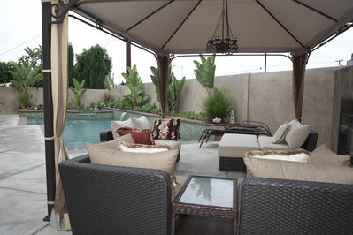 Outdoor living to relax, refresh, recreate.