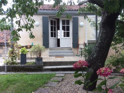 Photo for La Terrasse d'Estève, Cottage *** in Saint Sauvant (17), between Saintes and Cognac
