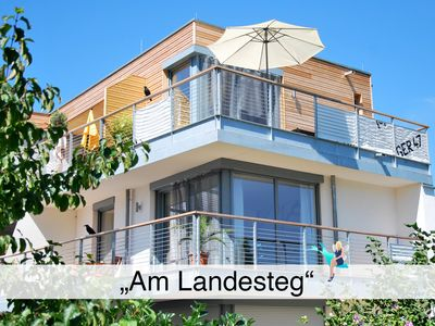 Photo for Duplex in new building with 2 balconies in Kressbronn, exclusively and directly at the lake