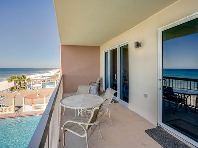 Photo for Beach-chic 7-floor condo w/ incredible gulf-front views! Gym & 2 pools