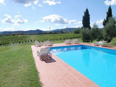 Photo for One bedroom Villa, sleeps 4 in Sergine di Sotto with Pool and WiFi