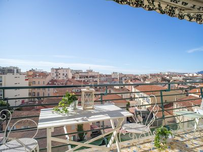 Photo for Studio with terrace in the center of Cannes