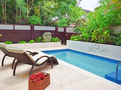 Photo for Relax Poolside At This Stylish Townhouse - Porters Gate 24