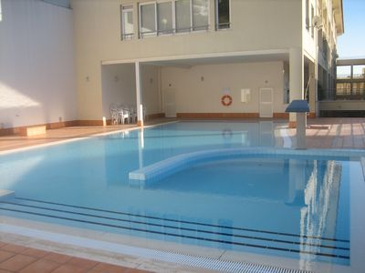Photo for Oásis 1G,Garage,Swimming Pool,5min Beach and Center,