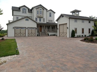 Photo for Beautiful home in Cotton Patch West. Sleeps 20 The Sandcastle of homes.