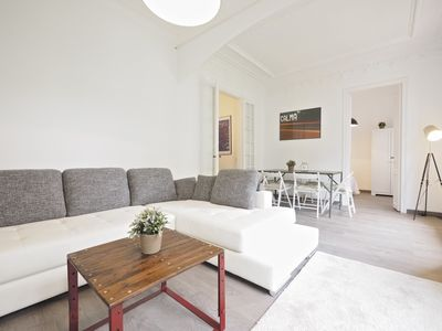 Photo for Apartment 645 m from the center of Barcelona with Internet, Lift, Balcony, Washing machine (689428)