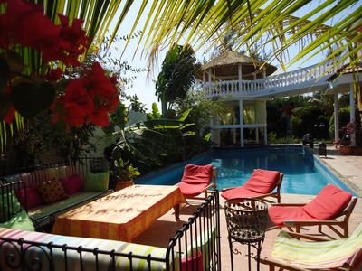 Photo for Great charming villa with swimming pool and tropical garden