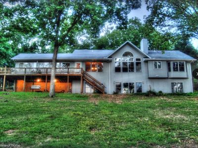 Photo for Amazing Secluded and Private 4500 sf 5 BR 4 BA lake Cove