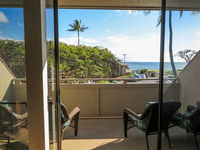Photo for Quiet Two Bedroom Oceanview Condo on the Top Floor. Central to ALL attractions !