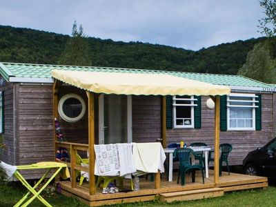 Photo for Camping La Roche d'Ully **** - Cottage Carborde 3 Rooms 6 People