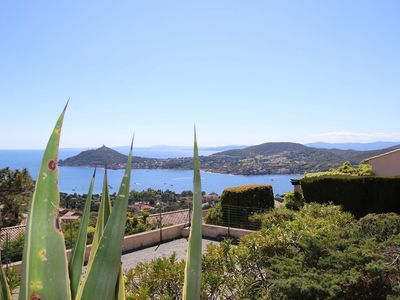 Photo for Saint Raphaël Agay French Riviera Bastidon for 6 pers sea view