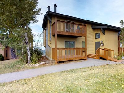 Photo for Ski-in/ski-out condo with deck & shared hot tub - close to downtown Boise!