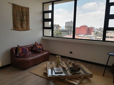 Photo for Newly refurbished apartment, fantastic views of the Historic Centre  of the City