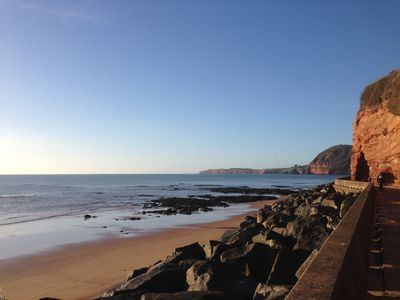 Photo for A Jurassic Coastal Retreat,  just a stone's throw from Sidmouth beach and town