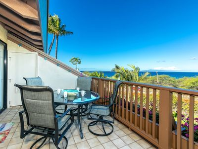 Photo for Maui Kamaole #G-210, Panoramic Ocean View, Extra Large Floor Plan, Sleeps 6