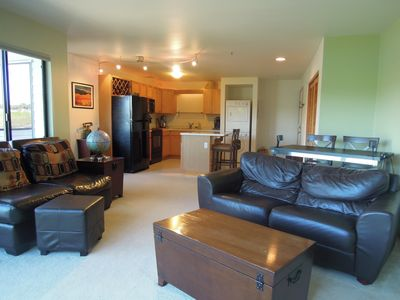 Photo for Riverfront condo in the heart of Portland