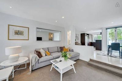 Plenty of space in the open plan living area