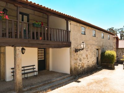 Photo for Detached house in Casa de Lamas, for 8 adults + 1 child
