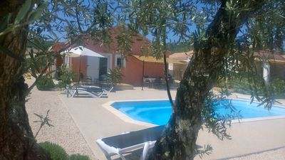 Photo for Villa at the entrance of the Gorges with private pool and access to shops on foot