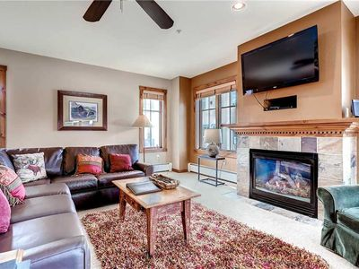 Photo for Beautiful Corner Unit with Outdoor Heated Pool, Hot Tubs & Summer Time Mountain Views