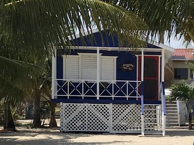 Photo for Beach Front Cottage in the heart of Placencia Village