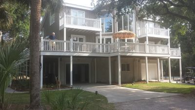 Photo for New Pool,Best Beach 4 BR/4.5 BA + loft , Pool Bar, new Furniture