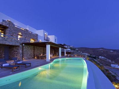 Photo for BlueVillas | Aegean Treasure Retreat | Total privacy with endless view