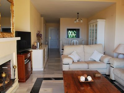 Photo for Beautiful two bedroom apartment facing the Mediterranean Sea