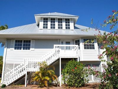 Photo for Old Florida Style Sanibel Home with Heated Pool