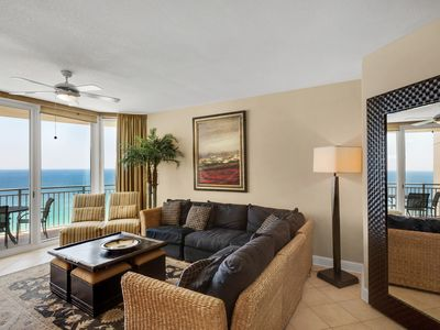 Photo for 2111 - 2B/2 Bath with Bunks.  Master Bedroom & Living Room Face the Gulf!