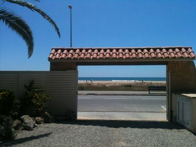 Photo for Castelldefels, Apartment on the beach and forget about the car :)