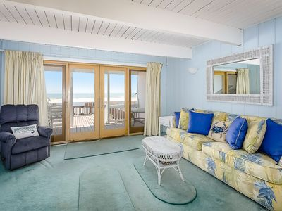 Photo for Boardwalk Front 3 Bedroom Town Home Within Steps to the Ocean!
