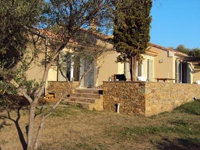 Photo for Private olive grove 15000m², sea view, 100m from the beach T5 Vil-la terraced