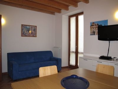Photo for Apartment Residence Donatello (TLA111) in Toscolano - 6 persons, 2 bedrooms