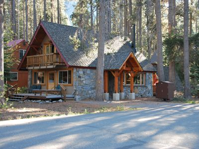 Photo for Donner Lake Charmer - West End Stone Cabin