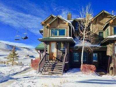 Photo for Ski in Ski out,  see video,  2Bed/2Bath Condo, Wifi, Kicking Horse Lodges
