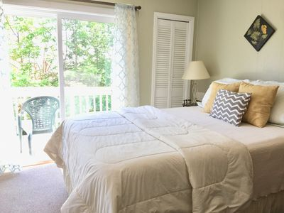 Cozy beds with luxurious sheets, blankets and comforters!