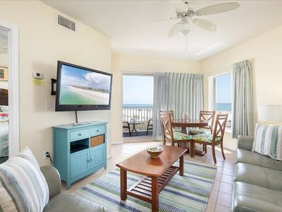 Photo for BEACH IS OPEN NEW LOW RATES!  BOOK NOW FOR BEAUTIFUL SUNSETS  BEST VACATION RESORT IN TREASURE ISLAND- GREAT FAMILY CONDO~ DIRECT GULF FRONT !!!!!! 2 / 2- SLEEPS 6
