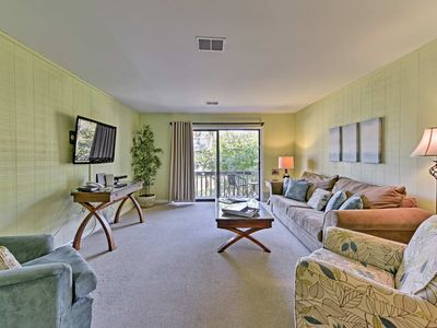 Photo for Hilton Head Condo - Steps to Beach w/ Pool Access!