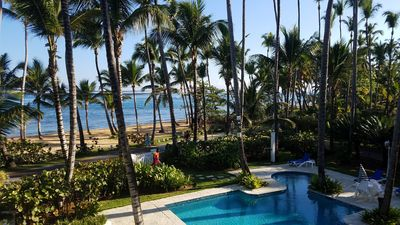 Photo for Luxury Oceanfront Condo - Walk to the Very Best of Las Terrenas - See Reviews!