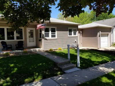 Photo for Just Listed!  - 2 blocks to Downtown and City Beach - Come Relax at the Lake