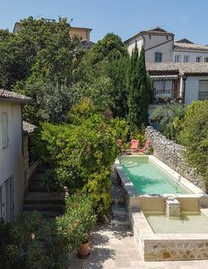 Photo for Authentic houses of charm, historic center of Uzès with heated pool