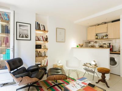 Photo for Sunny Apt in heart of Paris next to Luxembourg Garden
