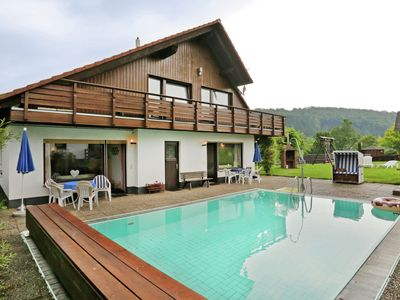 Photo for Spacious Apartment in Bad Wildungen with Pool & BBQ