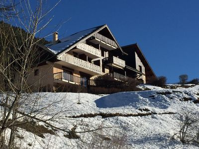 Photo for Cosy 2 bdrs appart nice view Serre Chevalier 1400