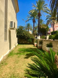 Photo for Apartment with private garden and Wifi in the best beach of Denia