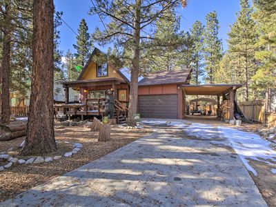 Photo for NEW! Big Bear Cabin w/Deck & Grill - By Ski Resort